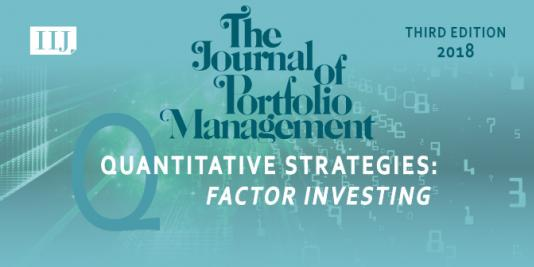 "The third edition of our special issue on ""Quantitative Strategies: Factor Investing"" is out now!"