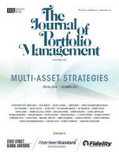 The Journal of Portfolio Management: 44 (2)