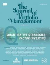 The Journal of Portfolio Management: 44 (4)