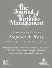 The Journal of Portfolio Management: 44 (6)