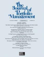 The Journal of Portfolio Management: 44 (7)