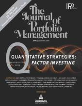 The Journal of Portfolio Management: 45 (3)