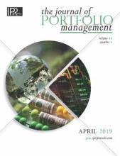 The Journal of Portfolio Management: 45 (4)