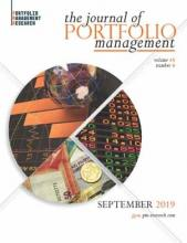 The Journal of Portfolio Management: 45 (6)
