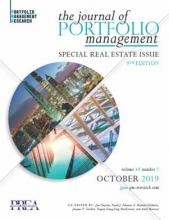 The Journal of Portfolio Management: 45 (7)