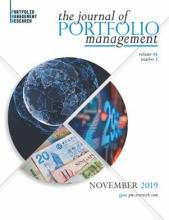 The Journal of Portfolio Management: 46 (1)