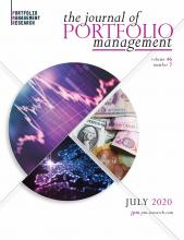The Journal of Portfolio Management: 46 (7)