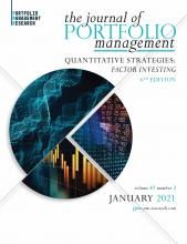 The Journal of Portfolio Management: 47 (2)