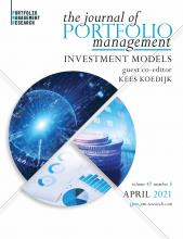 The Journal of Portfolio Management: 47 (5)