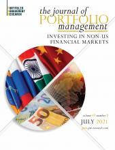 The Journal of Portfolio Management: 47 (7)