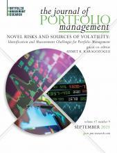 The Journal of Portfolio Management: 47 (9)